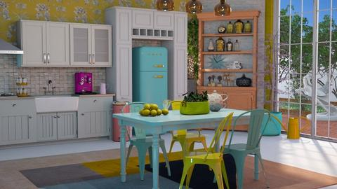 Colorful - Kitchen - by Just Bee