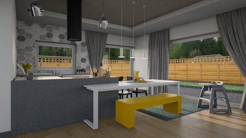keuken nieuww - Dining room - by meggle
