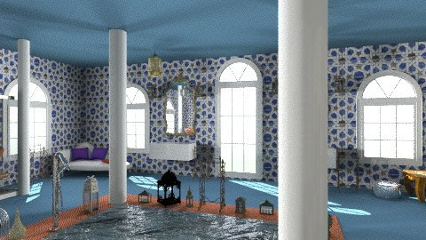 Arabian Bath - Rustic - Kitchen - by ericeira