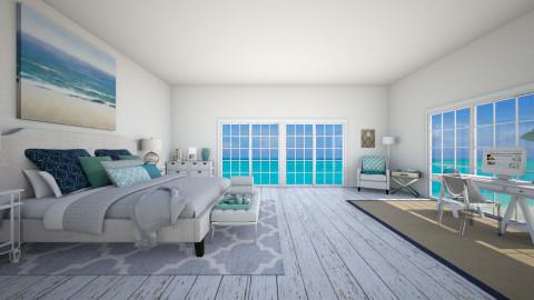 Beach Retreat - Rustic - Bedroom - by nyc17