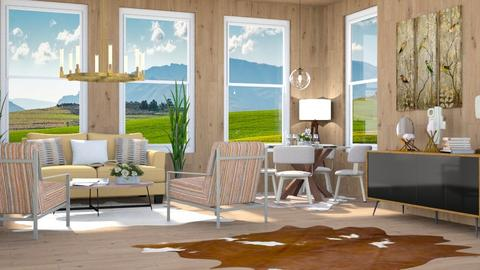 Farm Artisan Flooring - Country - Living room - by millerfam