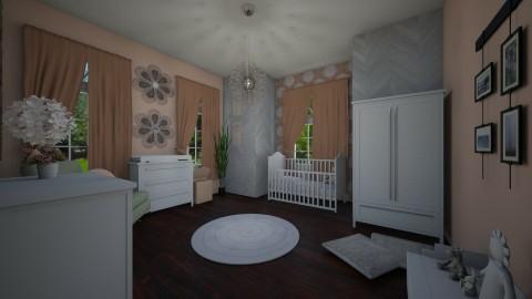 Pink Nursery - by PoukInteriors