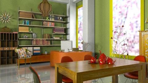 Office corner - Eclectic - Office - by mrschicken