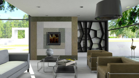 BauHaus - Minimal - Living room - by ATOMIUM