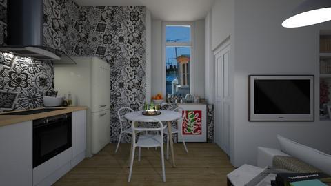 Casa316Kitchen - Retro - Kitchen - by nickynunes
