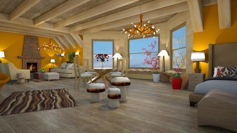 murshroom - Country - Living room - by mari mar
