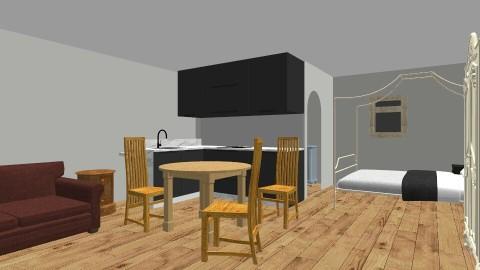 CottageBak2 - Vintage - Living room - by clbroyles