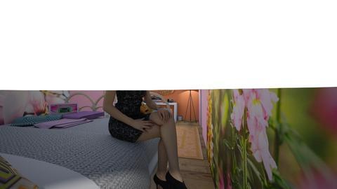 Teenage room - Bedroom - by NataliaBickford