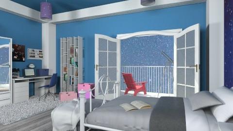Stars  - Kids room - by mirkaaa