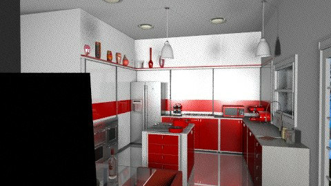 ESL Bright2 - Modern - Kitchen - by susumuyakushijin