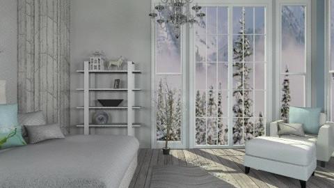 Winter Bedroom - Rustic - Bedroom - by deleted_1566988695_Saharasaraharas