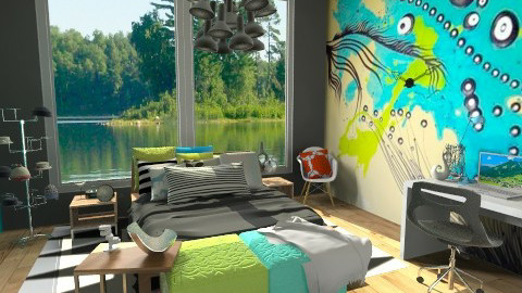Famous Made Easy - Eclectic - Bedroom - by idesine