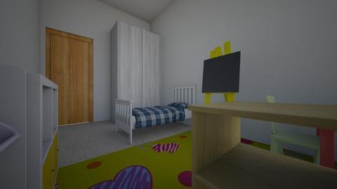 Room1 - Kids room - by Andrea Davila