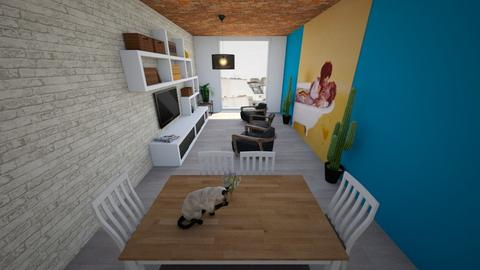 room1 - Living room - by leunham