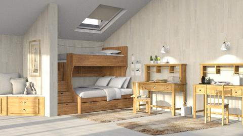 Bunk Beds - Bedroom - by Twilight Tiger