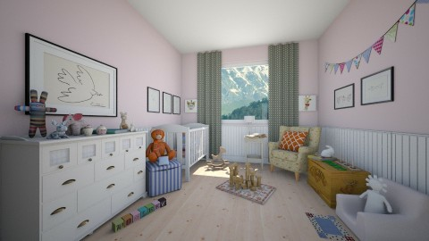 kids room in Canada - Kids room - by Yana Baliashvili