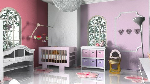 nursery/pink1 - Modern - Kids room - by decorj