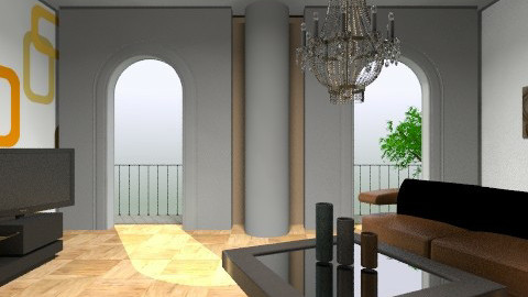 RelaX - Modern - Living room - by Menna Ibrahim