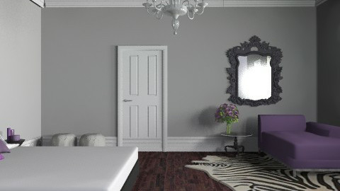 purple glam - Glamour - Bedroom - by shotzydog