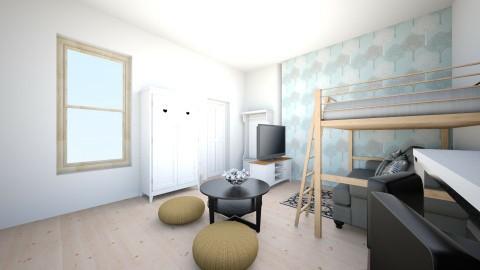airbnbtele - Living room - by kesdorka