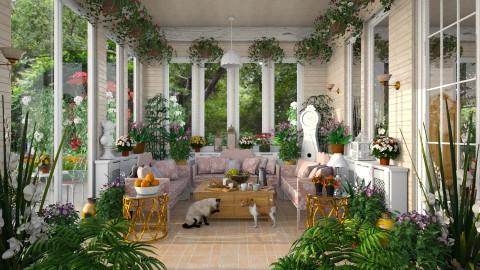 Victorian Sun Room - Garden - by lydiaenderlebell