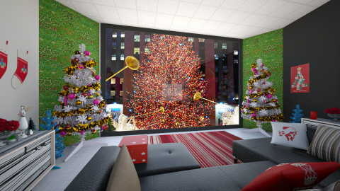 christmas in home - Classic - Living room - by abraham samangun