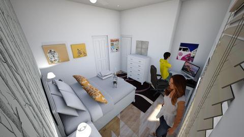 Jordan bedroom - Bedroom - by Linda50