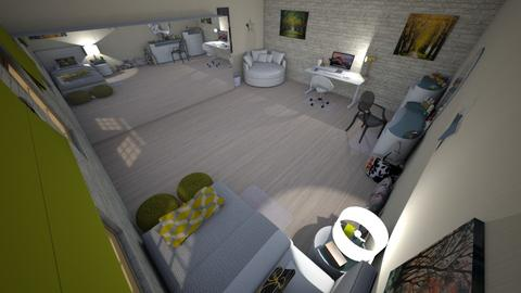 family home 97 - Modern - Bedroom - by Stavroula Chatzina