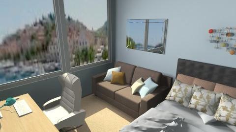 Student room - Minimal - Bedroom - by anjuska9