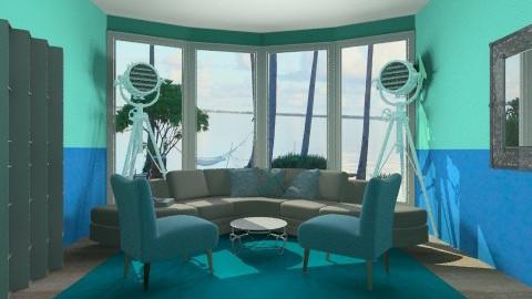 WIP - Living room - by PaxAmor