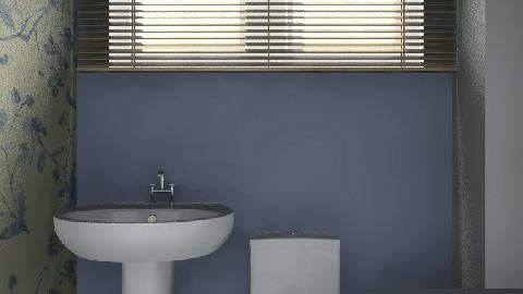 bathroomsmall - Retro - Bathroom - by yvonne400cc