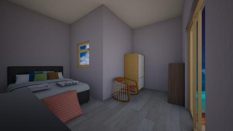 Bedroom by the sea - Bedroom - by Deyana Cvetkova
