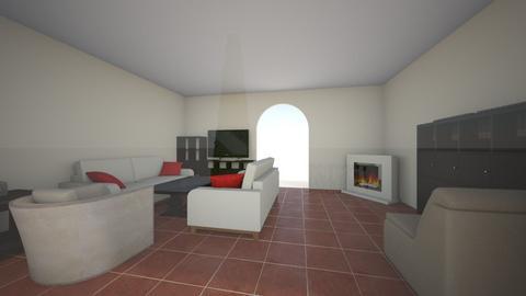 nappali_budafok_dark - Living room - by doralocsi