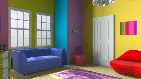 Funky Playroom - Eclectic - Kids room - by CattyEl