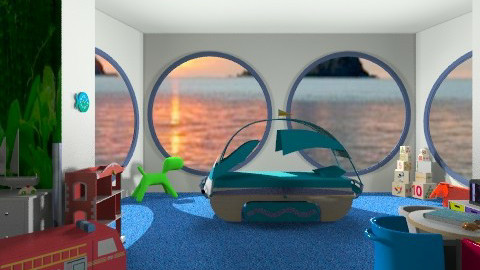 Sailing - Kids room - by Open Spaces
