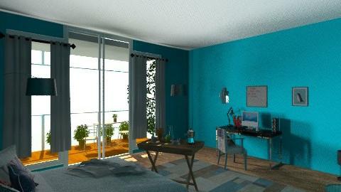 bedroom - Vintage - Bedroom - by katarina_petakovi