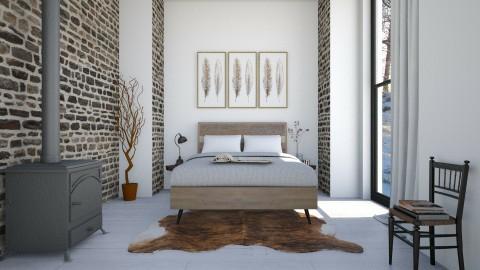 Inverno_ Quarto - Bedroom - by Sanare Sousa