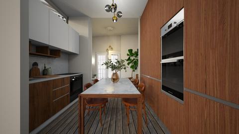 Casa232KitchenandDining - Eclectic - Kitchen - by nickynunes