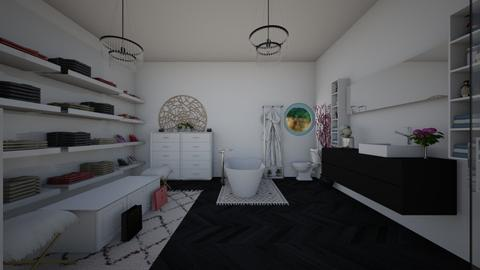 Dream Bathroom and Closet - Feminine - Bathroom - by Joy Mk