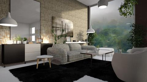 Misty - Living room - by ZuzanaDesign