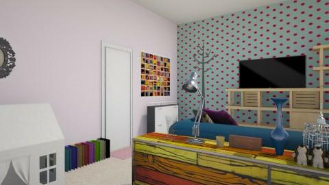 Quarto dos sonhos - Bedroom - by Gaby Santos_509