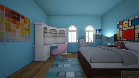 chill - Bedroom - by person5