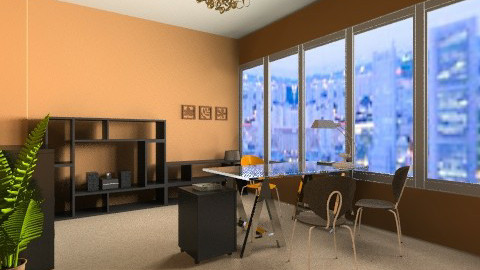 Personal Office - Classic - Office - by aubriella