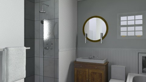 Bathroom 1 - Vintage - Bathroom - by Gina Scowen