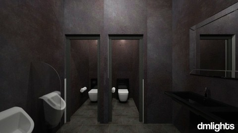 commercial 1 - Bathroom - by DMLights-user-1133665