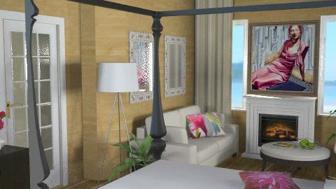 Cotswolds Master bedroom2 - Eclectic - Bedroom - by channing4