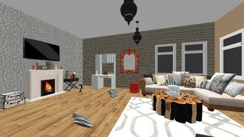 winter getaway - Living room - by dwoods