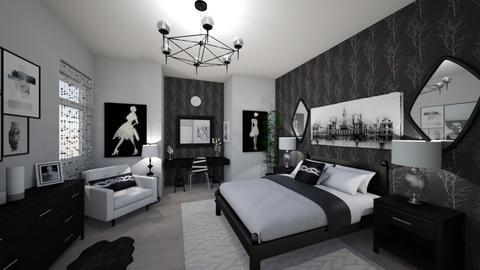 Teen Dream Room - Bedroom - by OnceInALifetime