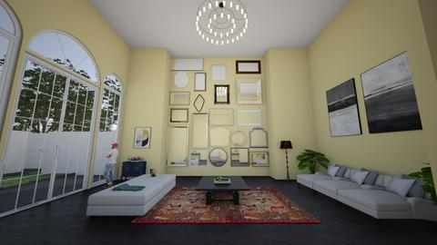 The Den - Eclectic - Living room - by jarellano89