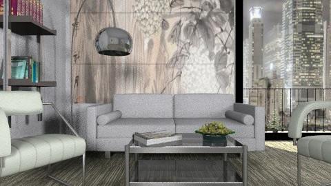 Gray - Minimal - Living room - by milyca8